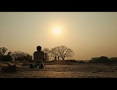 夕陽と瞑想.jpg